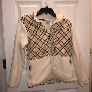 Women's fleece sweater worn once